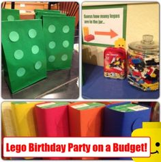 Lego Birthday Party on a Budget