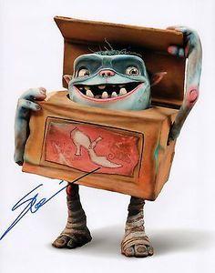 The-Boxtrolls-Steve-Blum-Signed-8x10-Photo-Shoe-Proof