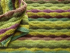 Moorland Blanket - Attic 24.  See these colours worked up in different patterns, NICE.