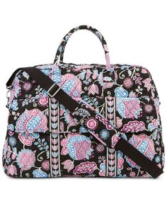 8c53f370639 Vera Bradley Grand Traveler Tote in Prints Luggage   Backpacks - Duffels    Totes - Macy s