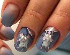 Фотография in 2020 Animal Nail Designs, Animal Nail Art, Nail Art Designs Videos, Acrylic Nail Designs, Cute Nails, Pretty Nails, Halloween Acrylic Nails, Nail Drawing, Pin On