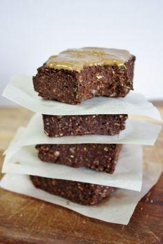 This Rawsome Vegan Life: raw fudge brownies: YEAH BABY!
