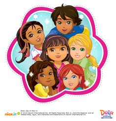 Happy Birthday Banner - 15 pages--- http://www.nickelodeonparents.com/dora-and-friends-birthday-banner/