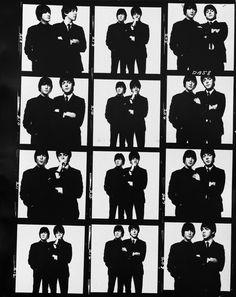 lennon and mccartney bailey photos | ... Behind the Photoshoot: Lennon and McCartney by David Bailey part deux