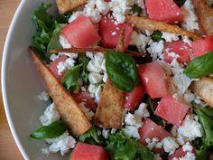 ¡Ensalada de Sandía y Feta! Fresh! Fresh! Fresh!