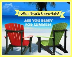 Win 11 Unique Summertime Beach Essentials!  http://kouponkrazed.com/2014/06/win-11-unique-summertime-beach-essentials/