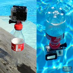 Printable Gopro Camera Bottle Cap Buoyancy Adapter by Reg Taylor Fishing Photography, Gopro Photography, Underwater Photography, Travel Photography, Photography Equipment, Photography Couples, Gopro Diy, Gopro Drone, Camera Iphone 5s