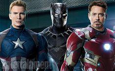 Capitão América: Guerra Civil é a capa da nova edição da EW