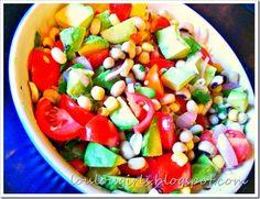 Healthy Black Eyed Pea Salad