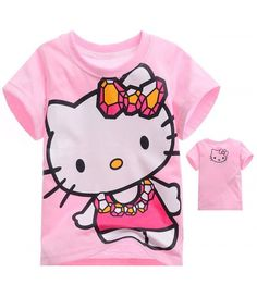 Camiseta Animada Hello Kitty