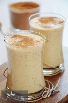 Bademli, Kuru İncirli Milk Shake – Sağlıklı Mutfak