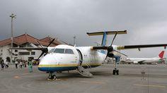 Ryukyu Air Commuter DHC-8-Q100@宮古空港(Miyako Airport)