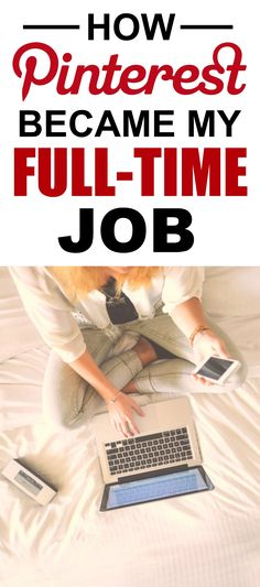 How she made Pinterest her full-time job is the best! I'm so glad I found this AMAZING post! How she was able to work from home and make $6k a year is incredible! Definitely pinning for later!