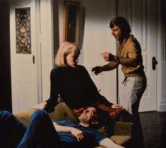 HOLLYWOOD NOSTALGIA:  Roman Polanski directs Mia Farrow and John Cassavetes on Rosemary's Baby.