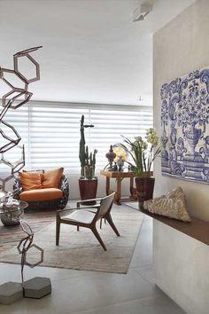 E mais azulejos - Casa Vogue Brasil