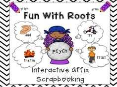 A knowledge of roots, prefixes, and suffixes, is imperative for all levels of readers and a true game changer for struggling readers!  Root instruction is also a expectation of Common Core K-8. Fun With Roots provides engaging and useful activities to build a foundation of root knowledge.The set includes 2 activities for each root (50 roots)  and a teachers copy.