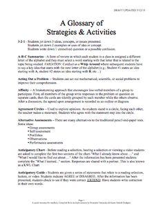 Here's a helpful glossary of SIOP strategies and activities. Siop Strategies, Test Taking Strategies, School 2017, Brain Breaks, Critical Thinking, Social Skills, Teaching Kids, Literacy, Student
