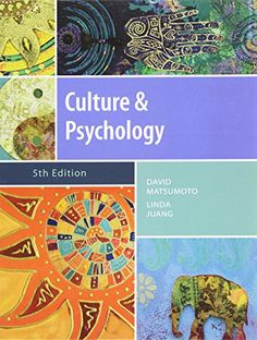 Culture and Psychology, 5th Edition by David Matsumoto http://www.amazon.com/dp/1111344930/ref=cm_sw_r_pi_dp_mHlZvb131J1QP