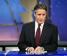 The Daily Show with Jon Stewart.  Love this guy and miss him on weeks he's away!