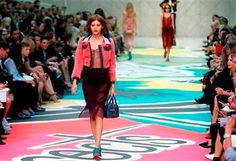 Colors, jean jackets highlight Burberry's show