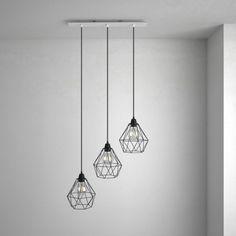 Obdĺžniková stropná rozeta, 60 x 12 cm s 3 otvormi, kovová, biela farba (1)