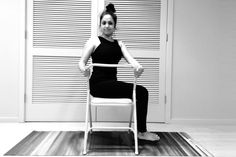 Chair yoga is accessible to many anywhere they are. Sweta Saraogi shares her chair yoga sequence with 6 yoga poses that you can do in the office or at home. Which pose in your favorite?
