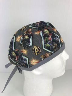 Avengers Skull Cap – Oksana's Creations Vintage Fashion 1950s, Victorian Fashion, Vintage Hats, Operating Room Nurse, Avengers, Christian Dior Couture, Kentucky Derby Hats, Scrub Caps, Mens Caps