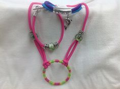 How to Make Bungee Cord Jewelry: Bracelets & Necklace