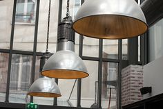 Le Chocolat, Paris - lamps by daveleb, via Flickr