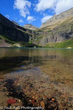 A beautiful morning at Grinnell Lake in Glacier National Park last summer.