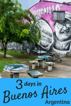 Here is a list of things to do in Buenos Aires. We loved our time here. Definitely a place not to miss off your list of places to visit in Argentina. Hope you enjoy our list of activities in that we did in our 3 days in Buenos Aires.