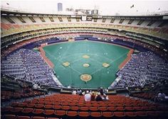 Three Rivers Stadium 1970 - 2000 Pittsburgh, PA. Saw the Pirates play here many times in the 70's & 80's.