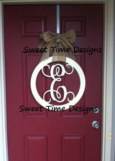 Exceptionnel Wooden Letter For Front Door! Https://www.facebook.com/
