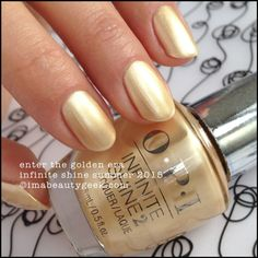 OPI Enter the Golden Era – Infinite Shine Summer 2015
