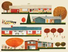 Suburbia - Cover BETTER HOMES & GARDEN - September 1958 from Roger Wilkerson, The Suburban Legend!