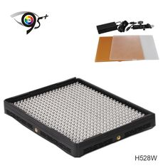 159.00$  Buy here - http://alihkd.worldwells.pw/go.php?t=1741673186 - Aputure 528pcs Led Digital Video Light Lamp For Camera DV Camcorder H528W CRI95+ led light bulb video production equipment