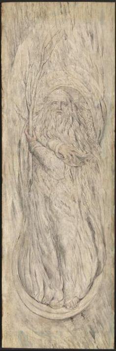 William Blake 'Winter', c.1820–5