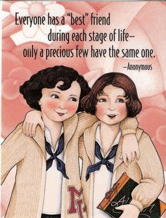 Best Friend During Each Stage of Life School Fridge Magnet Mary Engelbreit Art | eBay