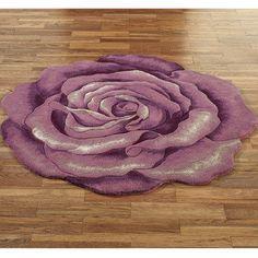 Becca Bloom Rose Floral RugLavender