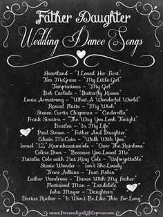 Top 20 Father Daughter Wedding Dance Songs I'm gonna have butterfly kisses!