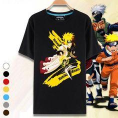Naruto Anime Movie 3D O-Neck T-shirt