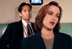 X-Files: Fox Mulder & Dana Scully