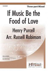 (3-part mixed) Russell Robinson presents this choral masterwork by Henry Purcell in a well-constructed arrangement for middle school mixed choirs. The music for the first and second verses are identical to aid in quick learning of this especially fine contest selection that also offers an option to perform a cappella.