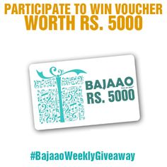 Gift Card Worth 5000 To Be Won!