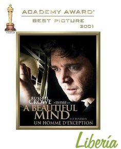"""#RecommendationOfTheWeek """"A Beautiful Mind"""" tells the real story of John Nash, a Princeton mathematician who actually still teaches there to this day. Nash is played by Russell Crowe, who is quickly distinguishing himself to be an incredibly versatile actor, going from an overweight and not so bright cop (""""L.A. Confidential"""") to bloodthirsty gladiator (""""Gladiator"""") and now a math whiz without missing a beat. Watch the Movie available at http://www.liberiaindia.com/pro_detail.php?pro_id=13331"""