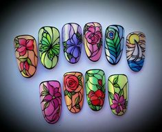 Nail Art Decoration With Rhinestones And Glitter – Best Puzzles, Games, Ideas & Nail Art Designs Videos, Nail Art Videos, Fabulous Nails, Gorgeous Nails, 3d Nails, Cute Nails, Nail Nail, Nail Polish, Nail Art Fleur