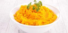 Roasted garlic, pumpkin and sweet potato mash
