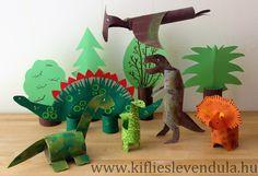 A Kisebbik odavan a dinoszauruszokért. Számtalan témába vágó szakkönyvvel rendelkezik, tudja, melyik időszakban milyen típusok éltek, és el...