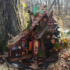 Elf Shack by CindiBee on Etsy