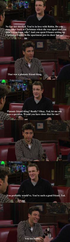 Ted and Marshall how i met your mother #himym